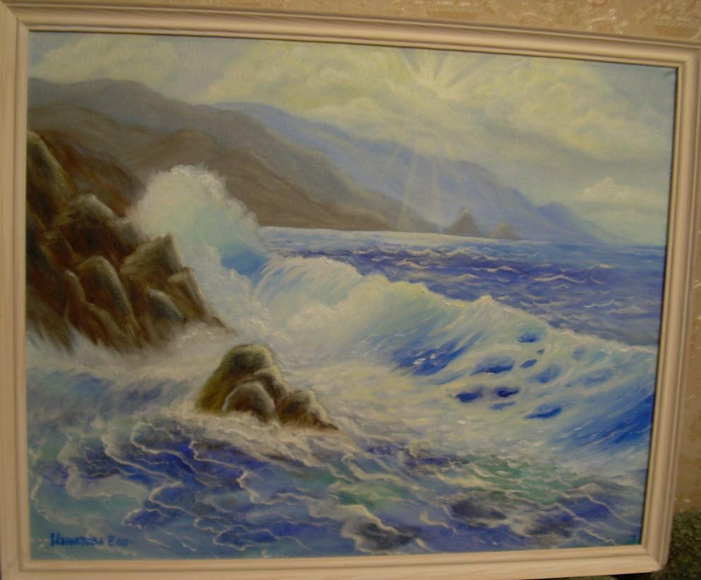 Картина моря