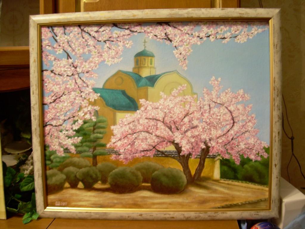 Храм весной Игнатова Елена