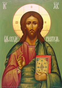 Поясная икона Господа Вседержителя2
